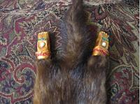 mink feet